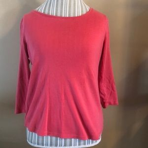 Chico's ultimate tee their size 1 equals size 8